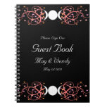 Dual Goddess Wiccan Lesbian Handfasting Guestbook Notebooks