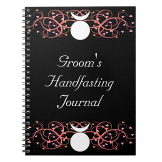 Dual Horned God Gay Wiccan Groom's Journal