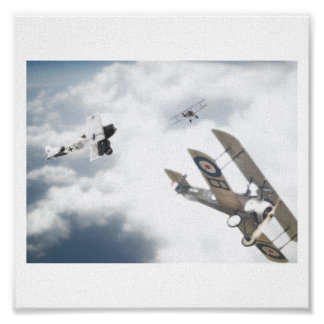 Dual in The Skies Poster