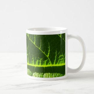 Dual-lit leaf basic mug