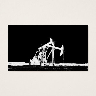 Dual Oil Pumping Units Business Card