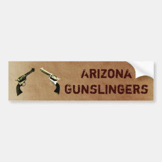 Dual Peacemakers Shooting Club Bumper Sticker