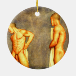 Dual sided Male ornament
