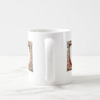 Dual sided White Tongue Coffee Mug