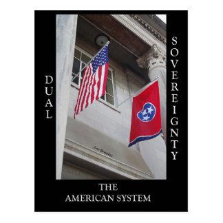 Dual Sovereignety Postcard
