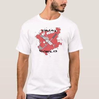Dual Wield Raccoon Fighter (Men's) T-Shirt