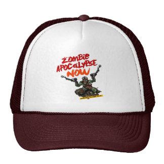 DUAL WIELDING ZOMBIE APOCALYPSE TRUCKER HAT