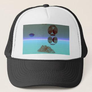 Dual Worlds - CricketDiane Art Trucker Hat