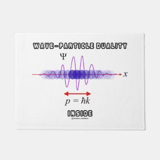 Dualidad de la Onda-Partícula dentro del principio Felpudo