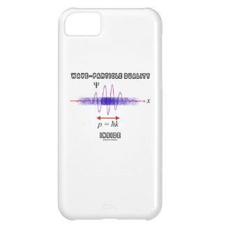 Dualidad de la Onda-Partícula dentro del principio Funda Para iPhone 5C