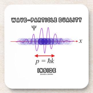 Dualidad de la Onda-Partícula dentro del principio Posavasos De Bebidas
