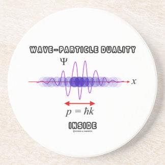 Dualidad de la Onda-Partícula dentro del principio Posavasos Manualidades