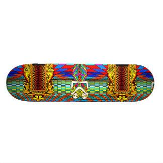Dualidad - diseño del monopatín de CricketDiane Ge Skate Boards