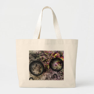 Duality Galaxy Large Tote Bag