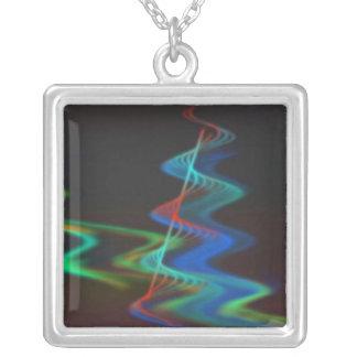 Duality Square Pendant Necklace