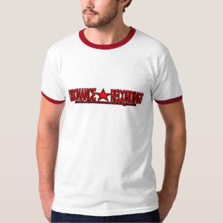DualStar Red Disonance Recordings Ringer T-Shirt