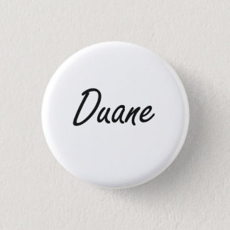 Duane Artistic Name Design Button