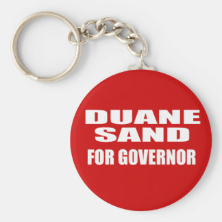 DUANE SAND FOR SENATE KEYCHAIN