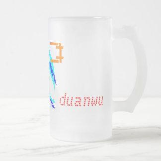 Duanwu - festival de barco de dragón taza de cristal