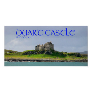 duart castle poster
