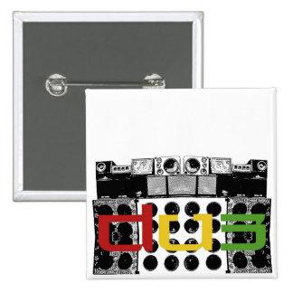 dub Button soundsystem sistema sonido Pin