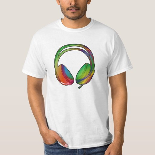 Dub Headphones tshirt (light)