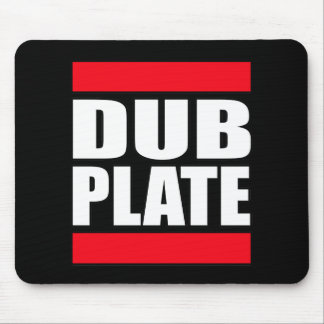 Dub Plate Dubplate Mouse Pad