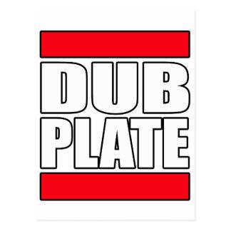 Dub Plate Dubplate Postcard