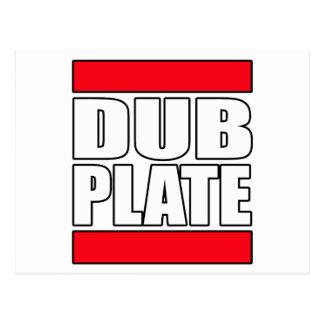 Dub Plate Dubplate Postcards