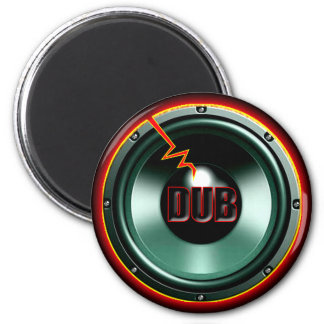 DUB RED HOT WOOFER t-shirts Magnet