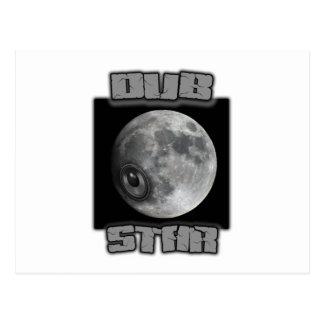 DUB STAR Dubstep shirts Postcard