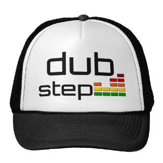 Dub Step Music with Stereo Equalizer Trucker Hat