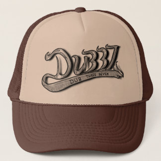 Dub Three Seven Chrome/Black Trucker Trucker Hat
