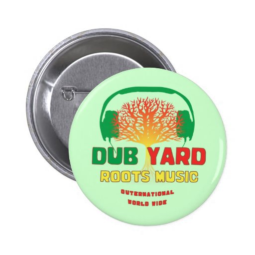 Dub Yard Roots Music Button