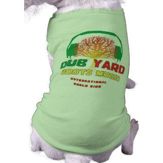 Dub Yard Roots Music Dog Tee Shirt