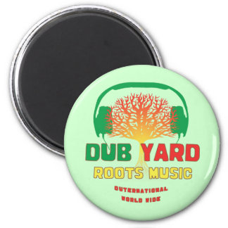 Dub Yard Roots Music 2 Inch Round Magnet