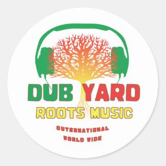 Dub Yard Roots Music Sticker