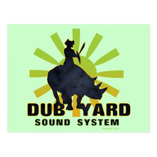 Dub Yard Sound System Postcard