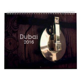 Dubai 2016 calendarios