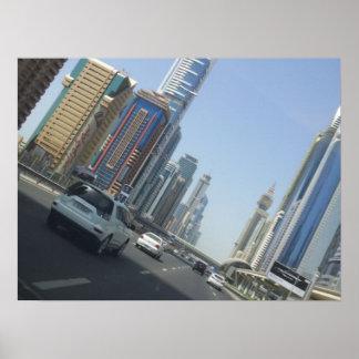 Dubai alto UAE Poster
