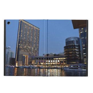 Dubai architecture at night cover for iPad air