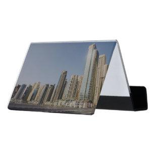 Dubai business card holders zazzle dubai architecture desk business card holder reheart Images