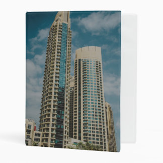 Dubai architecture mini binder