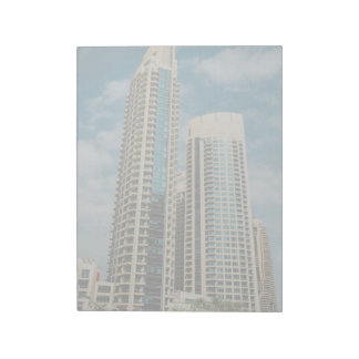 Dubai architecture notepad