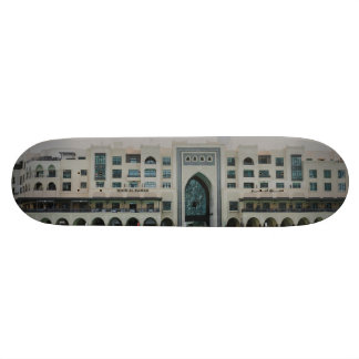 Dubai architecture skateboard