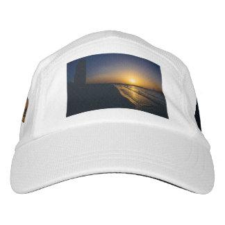 Dubai beach sunset headsweats hat