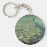 Dubai bird eye view key chain