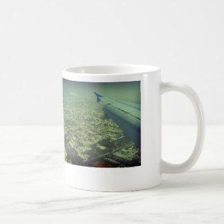 Dubai bird eye view mug