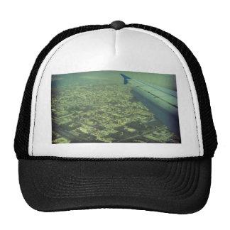 Dubai bird eye view trucker hat