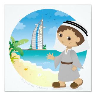 Dubai boy card